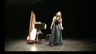 Nuit d'etoiles - C.Debussy Narea Son & Amandine Carbuccia 소프라노 손나래, 하프 아망디네 카르부챠