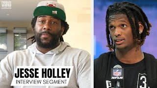 Jesse Holley Reacts to CeeDee Lamb Being Called a 'WR1' Before Start of Rookie Season