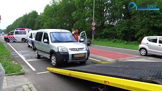 Gewonden bij ongeval Europaweg-Zuid in Assen