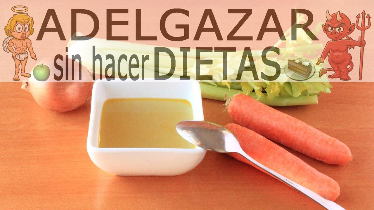 caldo de vegetales para bajar de peso