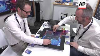 Console blends digital video games with traditional board games