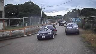 caravana de la Revolucion en el municipio Anzoategui Estado Cojedes