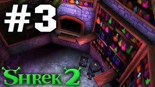 Прохождение Шрек 2 The Game - Часть 3 - Лаборатория феи.