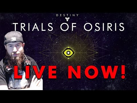 TRIALS OF OSIRIS LIVE STREAM! - Going For The Lighthouse! (Destiny Live Stream)