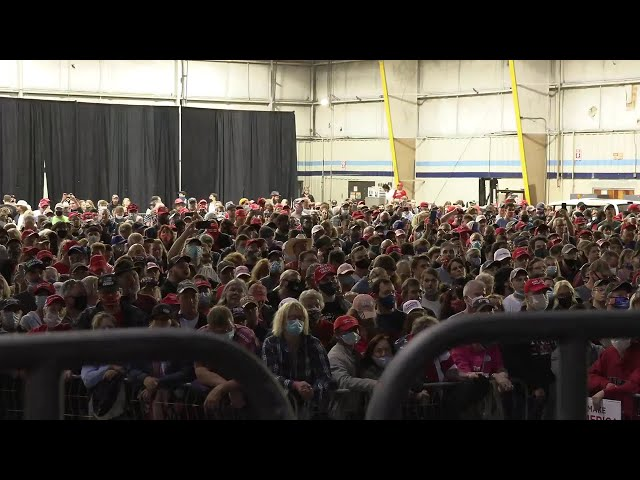 🔴 Watch LIVE: President Trump Holds Campaign Event in Newport News, VA  9/25/20