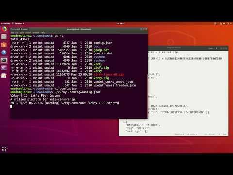 V2Ray Client on Ubuntu Linux - YouTube