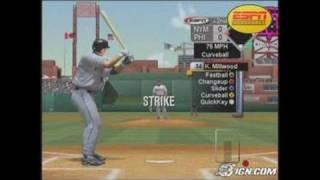 ESPN Major League Baseball Sports Gameplay