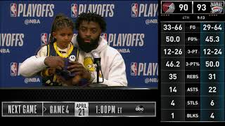 Postgame  Tyreke Evans Game 3 Press Conference