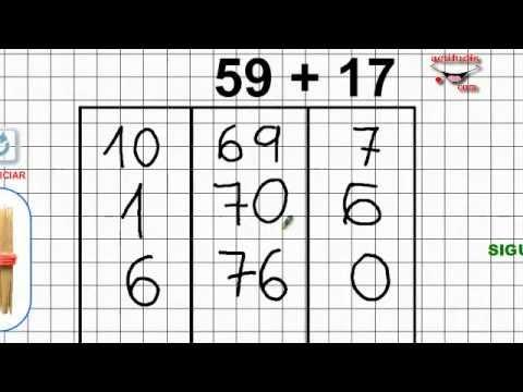 Sumas ABN hasta el 100 - YouTube