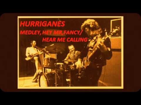 Hurriganes MEDLEY,Hey Mr fancy/Hear me Calling (Live 1973)(AUDIO)