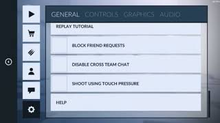 Setting and controls // critical ops