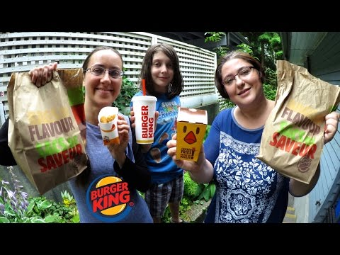 Burger King Gay Family Mukbang (먹방) - Eating Show