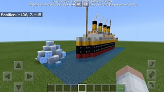 ✔Minecraft - How to Make a Mini Titanic Model