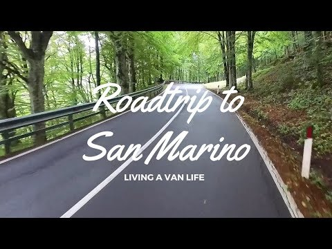 San Marino Roadtrip Highlights ! A rainy day on the road