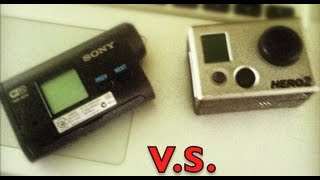 sony action cam vs gopro hd hero 2 in depth comparison and review