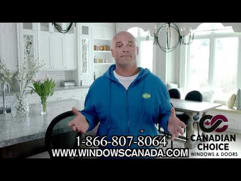 Canadian Choice Windows & Doors: HIGH ENERGY EFFICIENCY. DraftLOCK