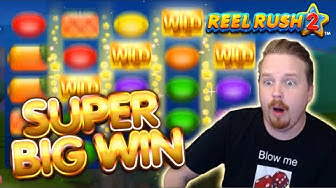 HUGE WIN on BIG BET - Reel Rush 2