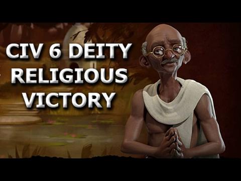 CIV 6 Deity - Religious victory - Part 1
