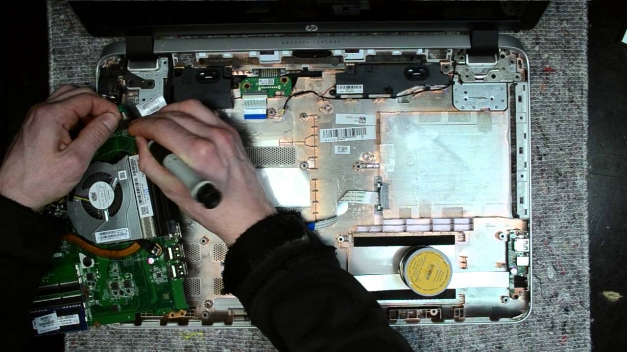 Hp Pavilion 17 Laptop Disassembly Take Apart Teardown