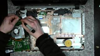 HP Pavilion 17 laptop disassembly, take apart, teardown tutorial