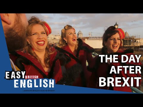 The Day after Brexit in Brighton | Easy English 39