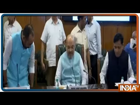 Union Home Minister Amit Shah meets Joint Secretaries of the Ministry of Home Affairs