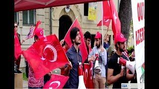 Турки и азербайджанцы ответили на акцию армян