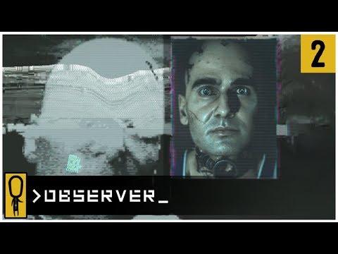 👁 HN's APARTMENT 👁 - OBSERVER Gameplay Ep 2 - Let's Play OBSERVER Walkthrough