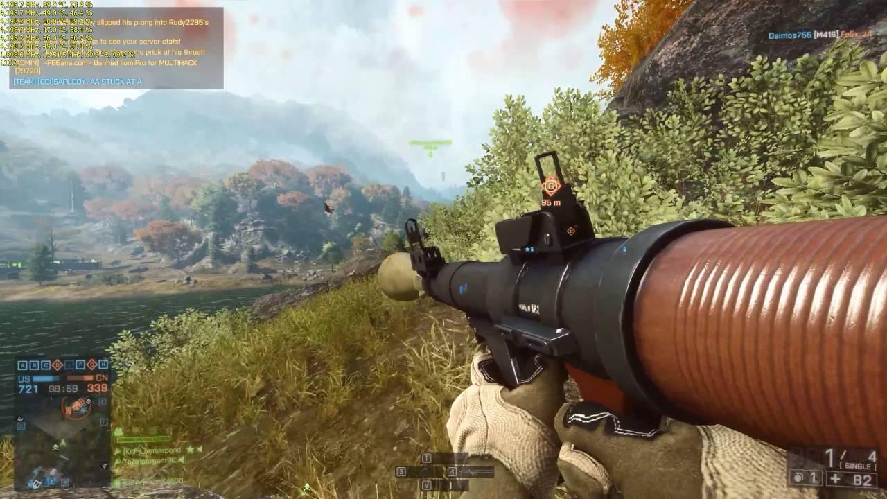 MSI GTX 1080 Gaming X 8G - Battlefield 4 FPS Test