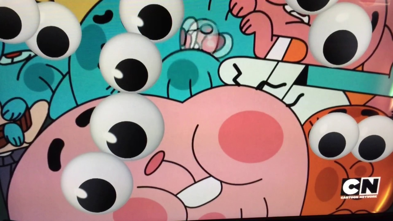 cartoon network april fools googly eyes the amazing world of gumball