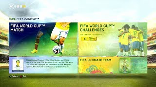 FIFA 14 - World Cup Update! [Available To Download]