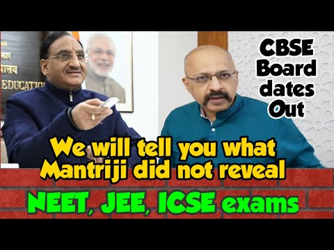 CBSE Board Exams 2021 dates released | NEET postponement to June-end or early July looks certain