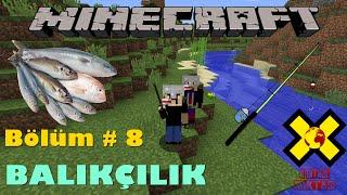 MineCraft - Bölüm # 8 - Balık Nasıl Tutulur