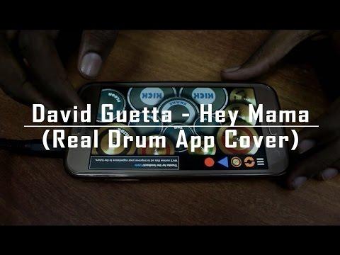 David Guetta - Hey Mama - Disto Remix (Real Drum App Cover) - By Vijay Yadavar