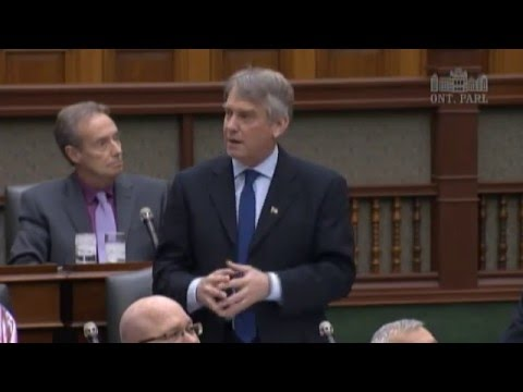 MPPs pay posthumous tribute to Lorne Maeck, Mar. 9, 2016
