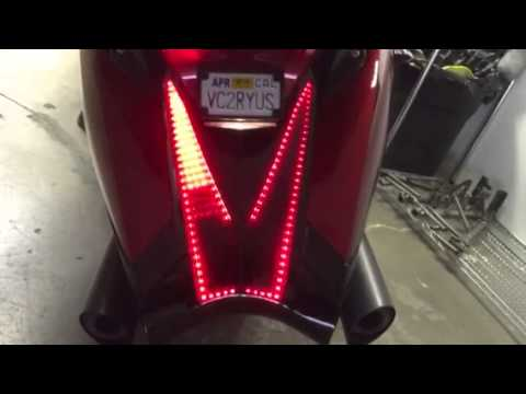MBW Rear Tail Lights for the Vision
