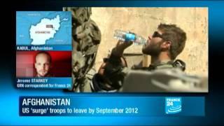 Afghanistan war - Obama unveils US troop withdrawals