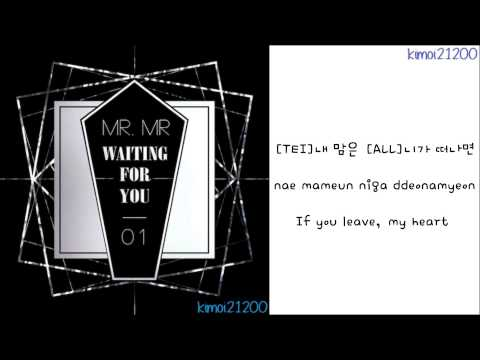 MR.MR - Waiting For You [Hangul/Romanization/English] Color Coded HD
