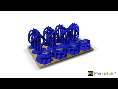 Organize your rings before printing - RhinoGold 6.5
