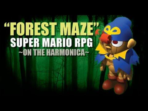Harmonica harmonica tabs mario : Forest Maze - Mario RPG - played on the harmonica - YouTube