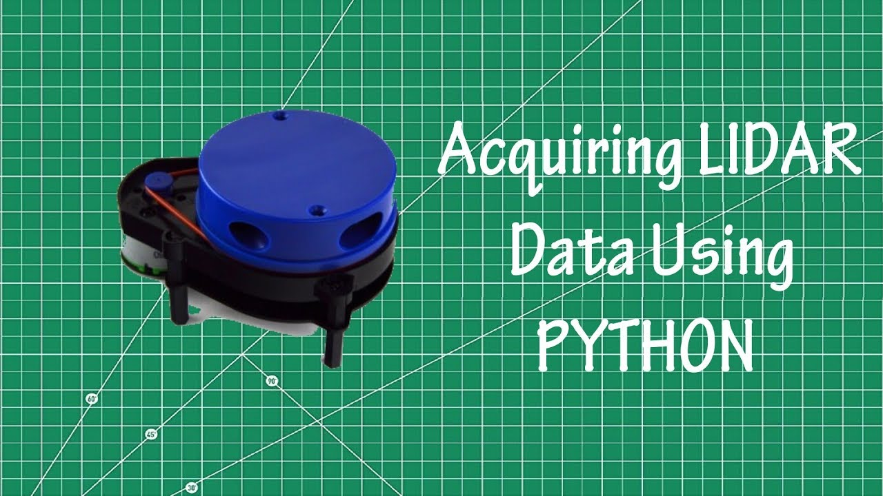 Interfacing LIDAR using Python