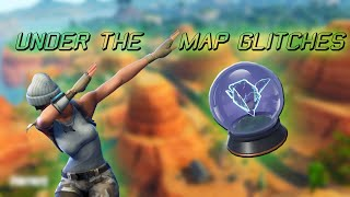 How to glitch *UNDER THE MAP* Fortnite Season 9