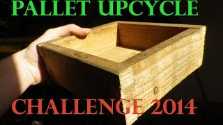 Rustic Box | Jigsaw Box Joints | Pallet Upcycle Challenge 2014