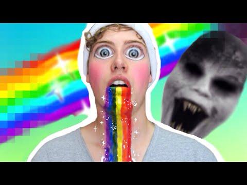 DIY Maquiagem Snapchat para Halloween