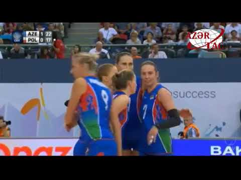 Azerbaijan claimed second win at 2017 CEV Volleyball European Championship – Women