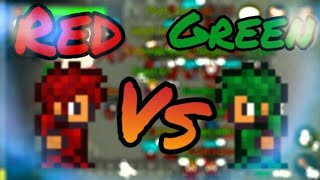 Mirage Realms Red Vs Green Friendly War!