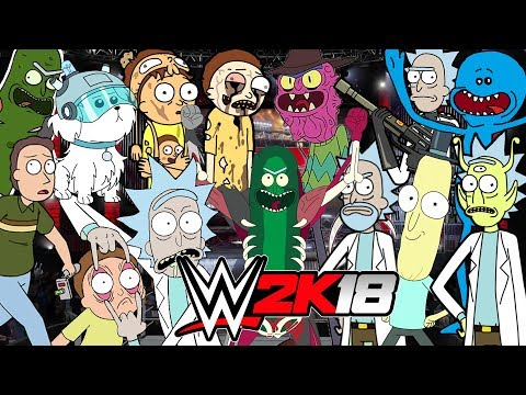 RICK AND MORTY | Royal Rumble WWE 2K18