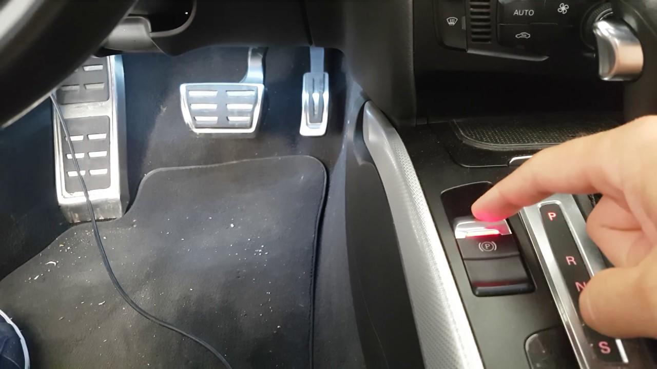 Audi A4 8k B8 Codifica Sblocco Freno Di Stazionamento
