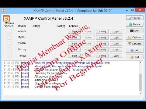 Belajar Membuat Website Offline Menggunakan XAMPP.