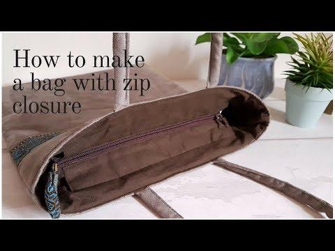 Zip Closure For Handbags